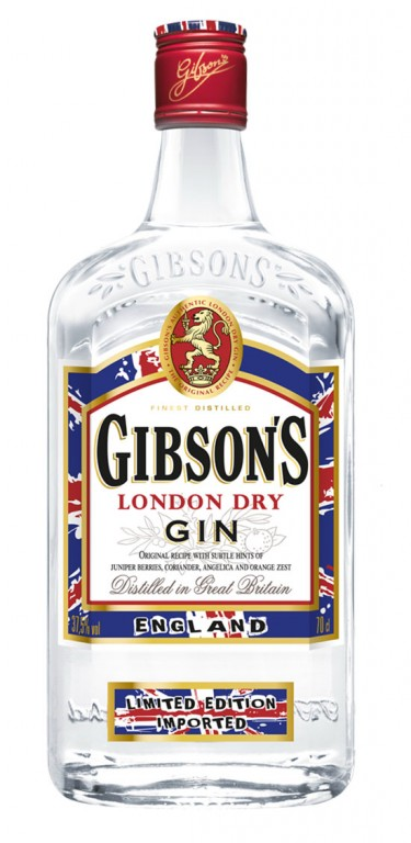 GIBSONs DRY GIN 37,5 % 0,7 l